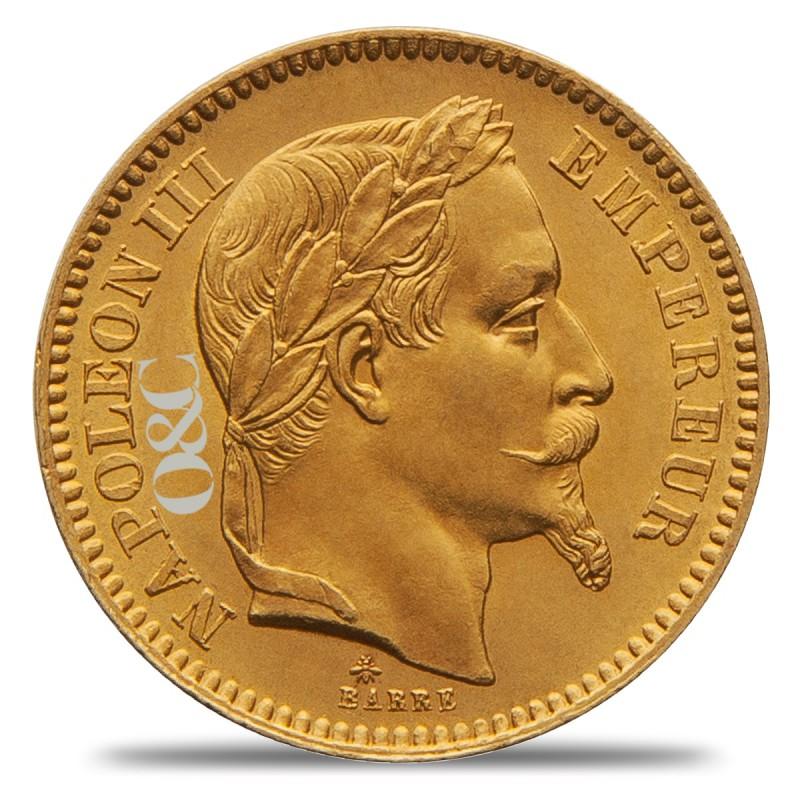 Pi ce de 20 francs napol on iii ou g nie avec or change - Bureau de change paris bourse ...