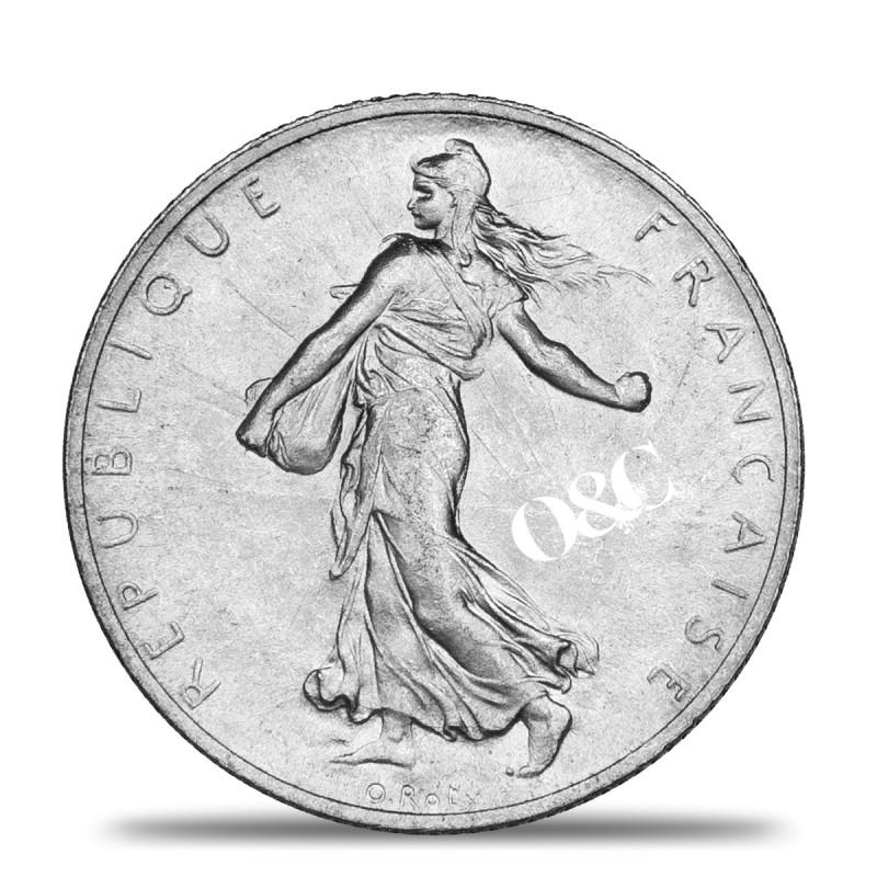 Pi ce 2 francs semeuse avec or change - Bureau de change paris bourse ...