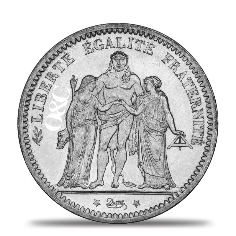 Pi ce 5 francs ecu avec or change - Bureau de change paris bourse ...