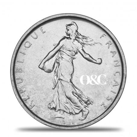 5 Francs Semeuse Avers
