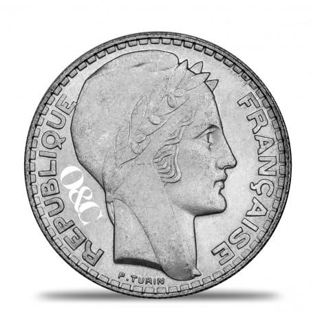 20 Francs Turin Avers