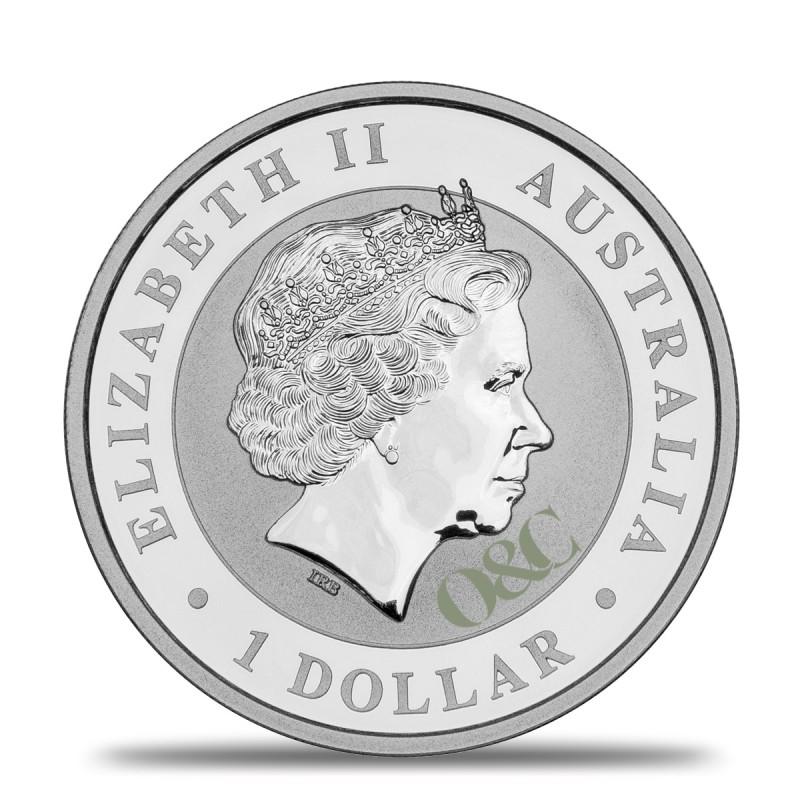 Pi ce koala 1 once argent avec or change - Bureau de change paris bourse ...