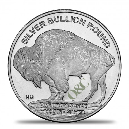 Once Argent Buffalo Revers