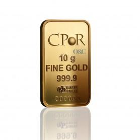 Lingotin CPoR 10 grammes