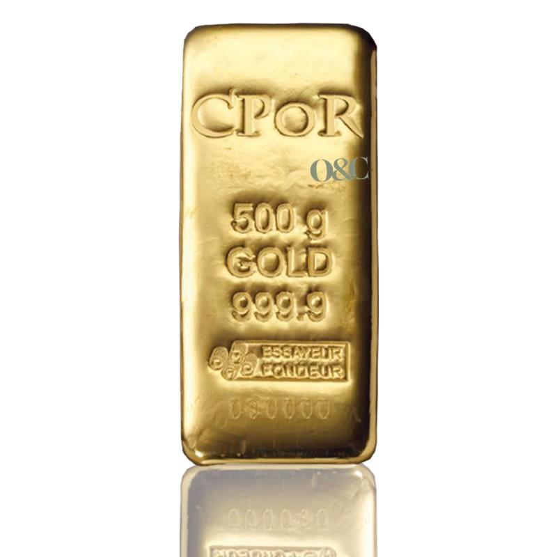 Achat lingotin or 500 grammes cpor avec or change - Bureau de change paris bourse ...