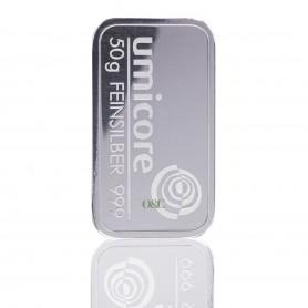 Lingotin Argent 50G