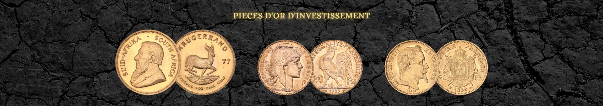 Achetez de l'or de bourse et lingots CPoR avec Or & Change